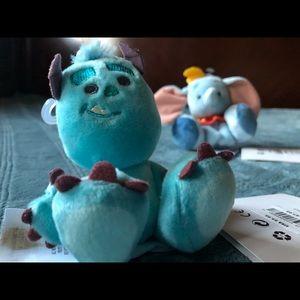 Disney plushes Tiny Big Feet